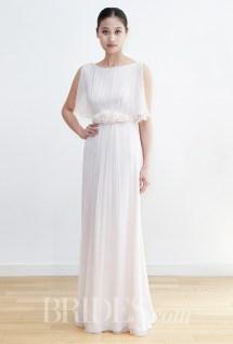 Leila Hafzi Wedding Dress - Spring 2016 Collection / Photo: brides.com