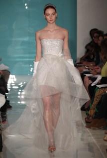Reem Acra Wedding Dress - Spring 2013 Collection / Photo: brides.com