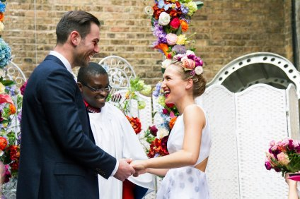 Sophia Webster and Bobby Stockley wedding