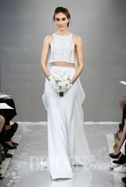 Theia Wedding Dress - Fall 2015 Collection / Photo: brides.com