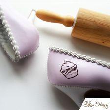 Shoe Bakery Custom Design Close Up