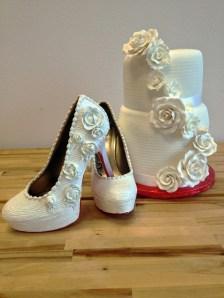 Shoe Bakery Wedding Heels