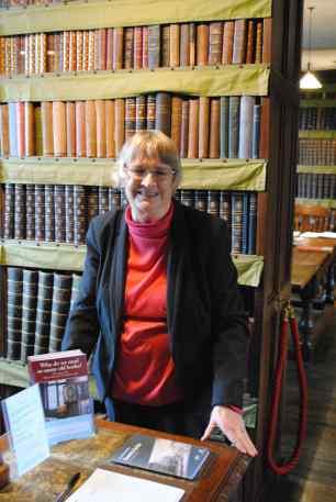 Sue Belsham thomas plume library