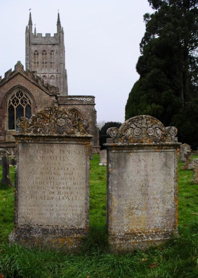 Mells Horner graves