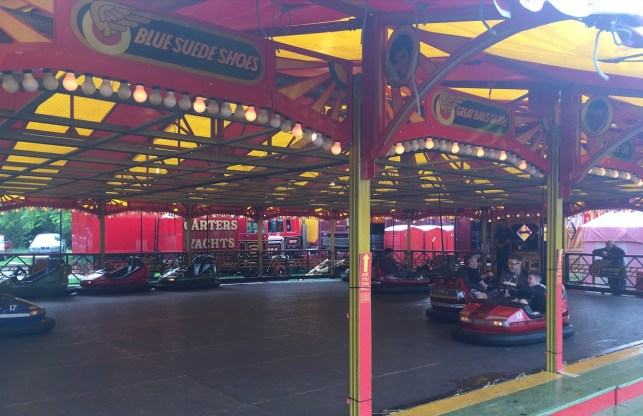 Dodgems Carters Steam Fair