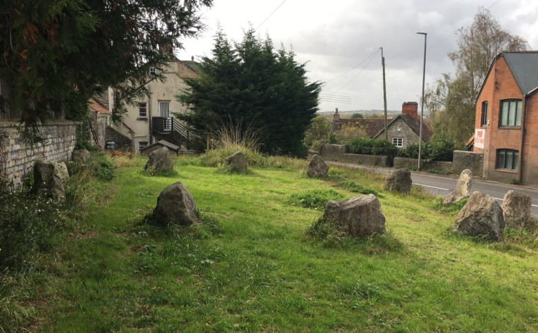 Glastonbury stone circle