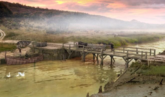 Early Pomparles Bridge
