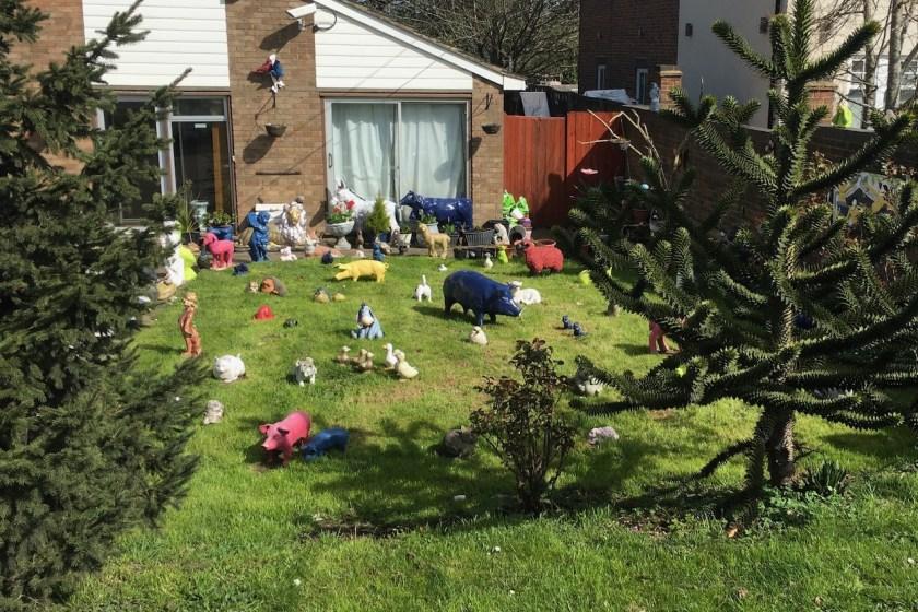 Weston Turville garden