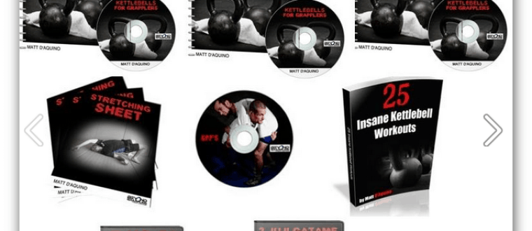 Review of Kettlebells For Grapplers By Matt D Aquino