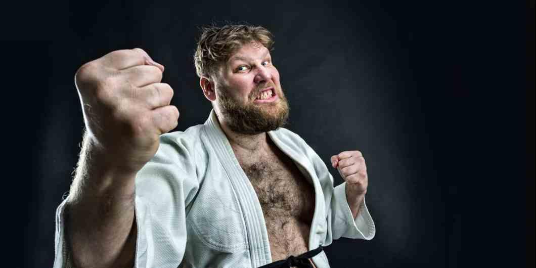 Judo self defence