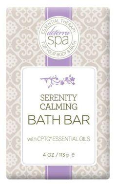 Serenity bath bar