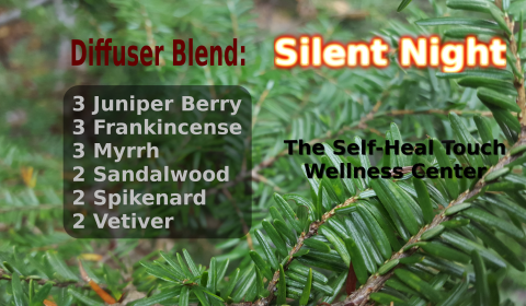 Silent Night Diffuser Blend