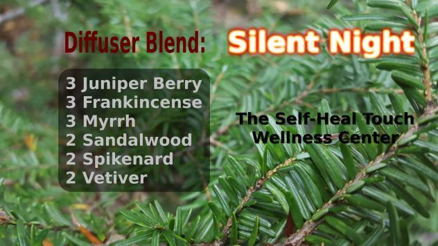 Silent Night Diffuser Blend