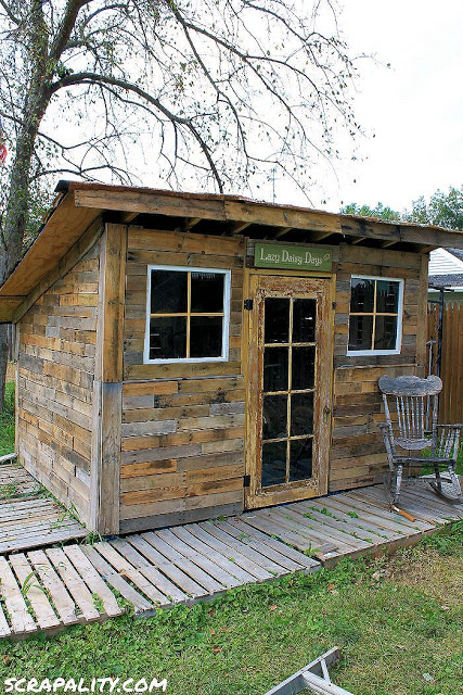10 Free Plans To Build A Shed From Recycle Pallet The Self Sufficient Living