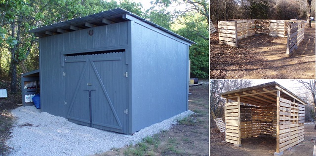 10 Free Plans To Build A Shed From Recycle Pallet The