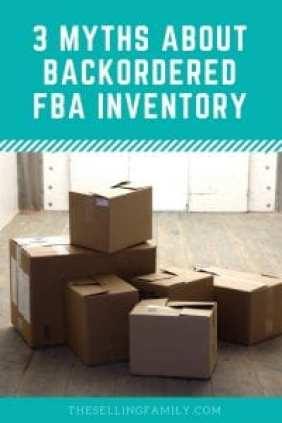 3 mythes sur l'inventaire FBA en attente