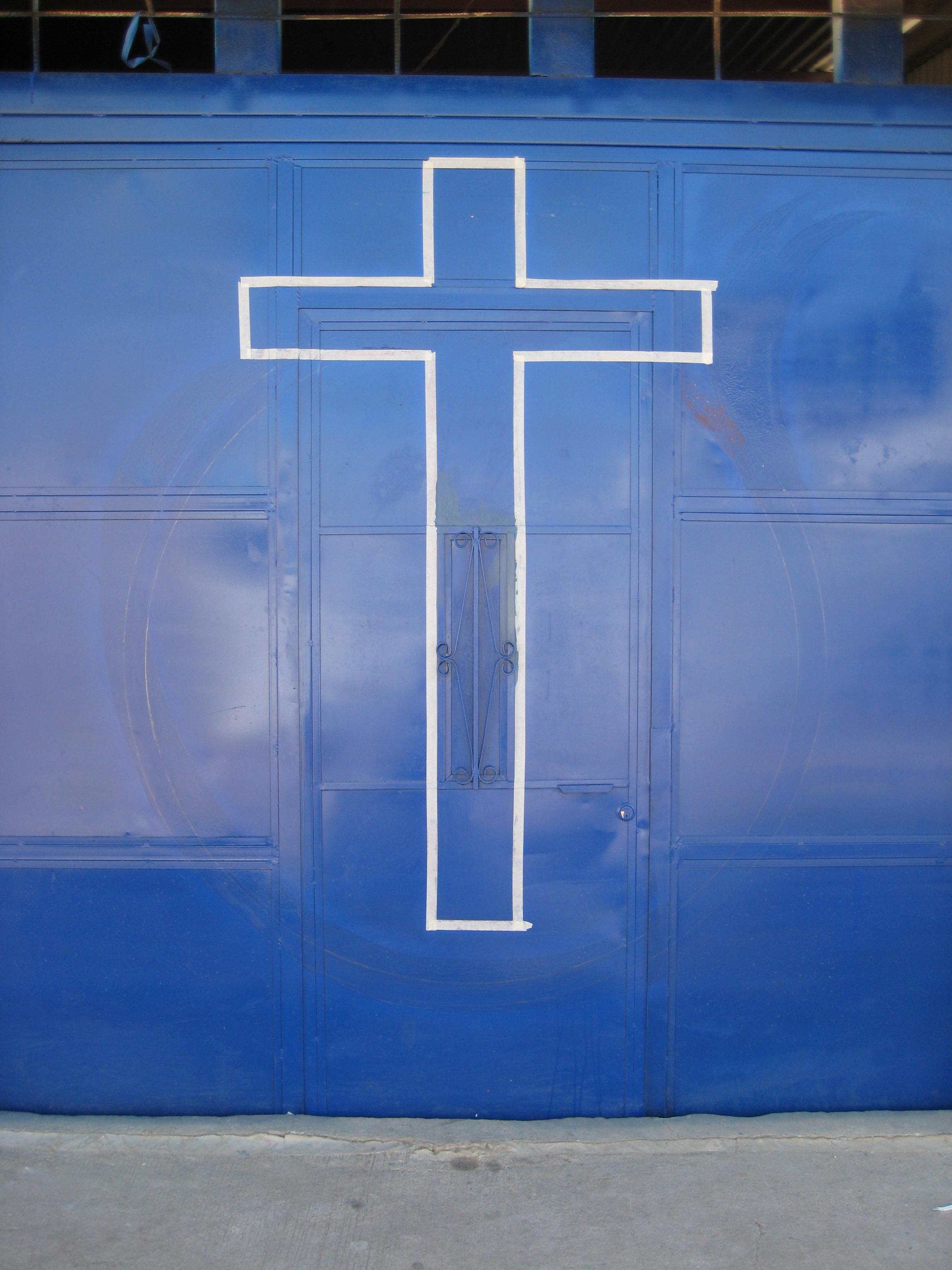 Guatemala City cross