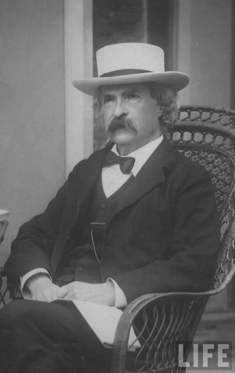 Mark Twain bow tie