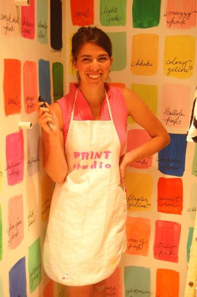 Paige Smith Lilly Pulitzer print designer