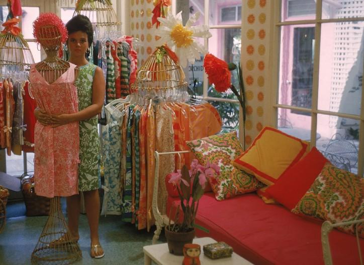 Lilly Pulitzer Palm Beach shop
