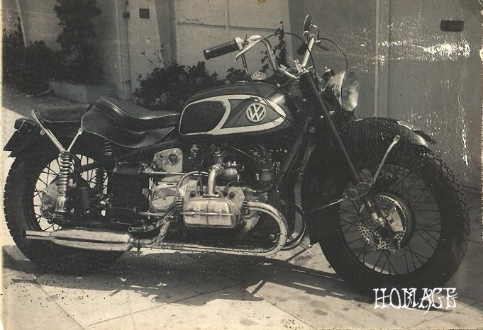 An incredible example of vintage Von Dutch handiwork.