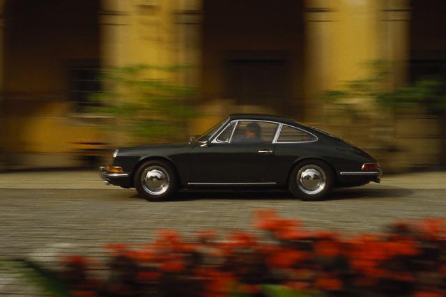 The iconic Porsche 911