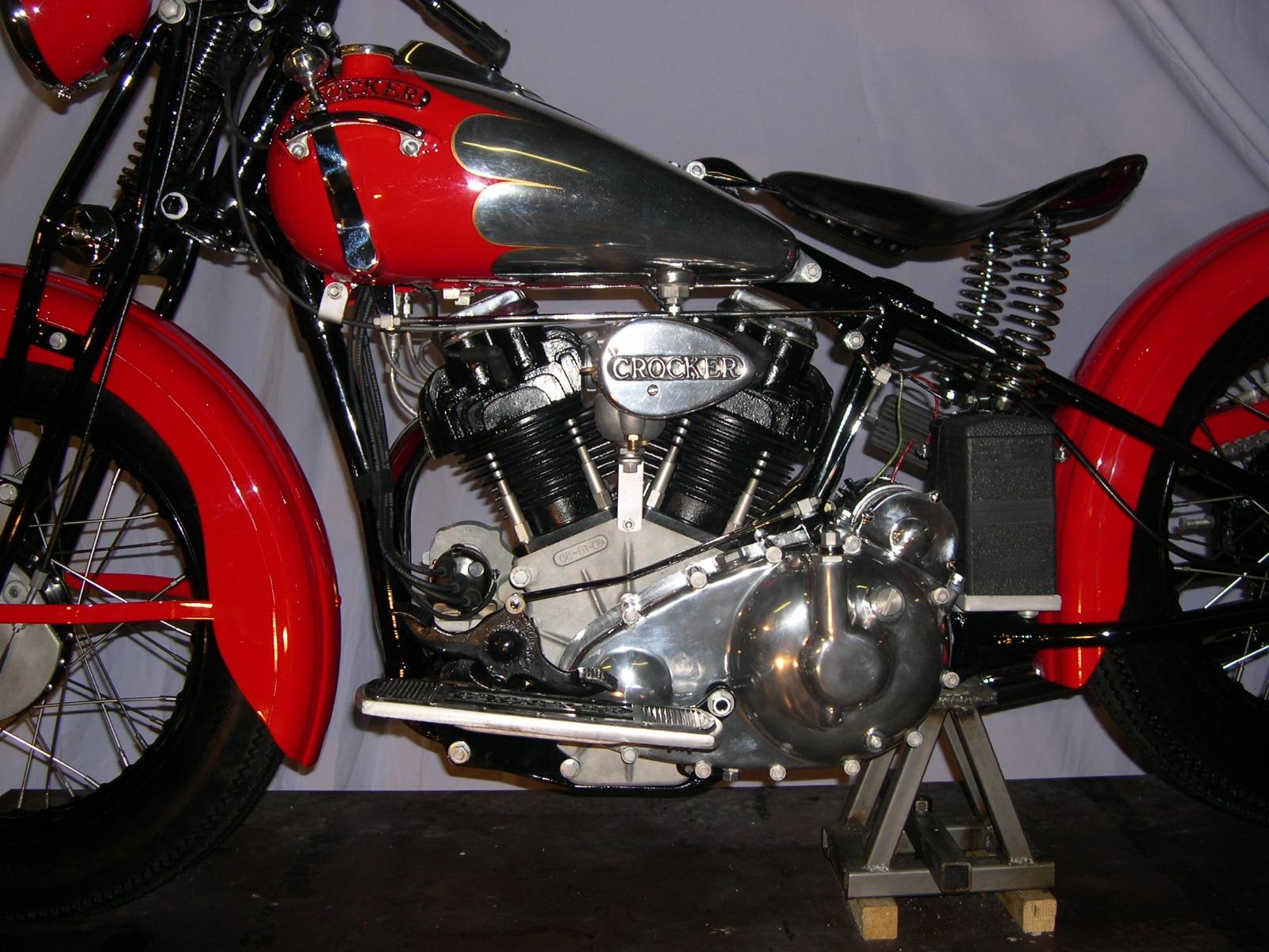 New Crocker Big Tank Motorcycle