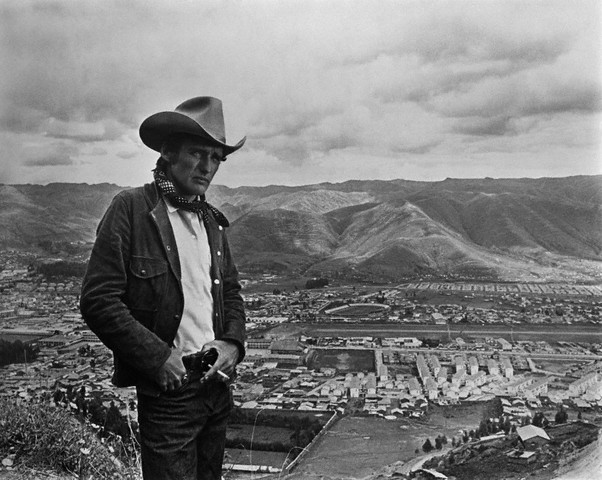 American actor and director Dennis Hopper on the set of his movie, 1971.  -- Image by © Apis/Sygma/Corbis