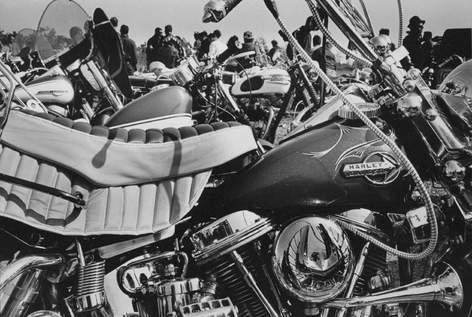 """Field meet, Long Island, New York"" from The Bikeriders by Danny Lyon  --circa 1963-66."