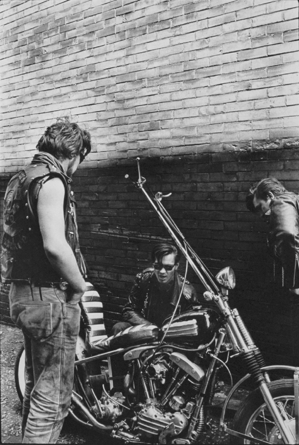 """Chopper, Milwaukee"" fro The Bikeriders by Danny Lyon  --circa 1965-66."