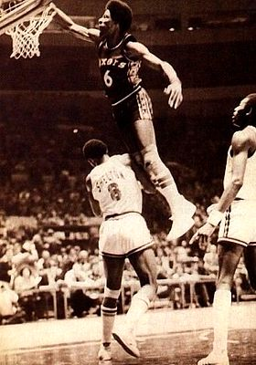 Julius Erving dunk