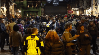 the one motorcycle show portland crowd