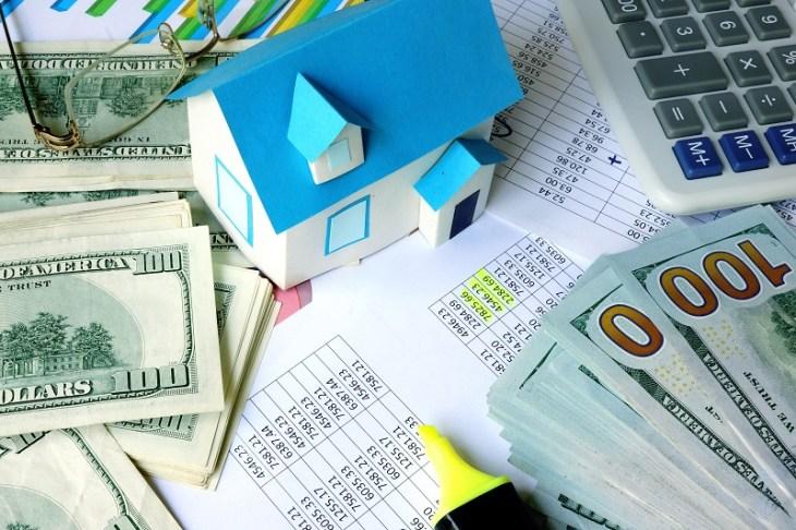 Cash, Calculator, Home Model
