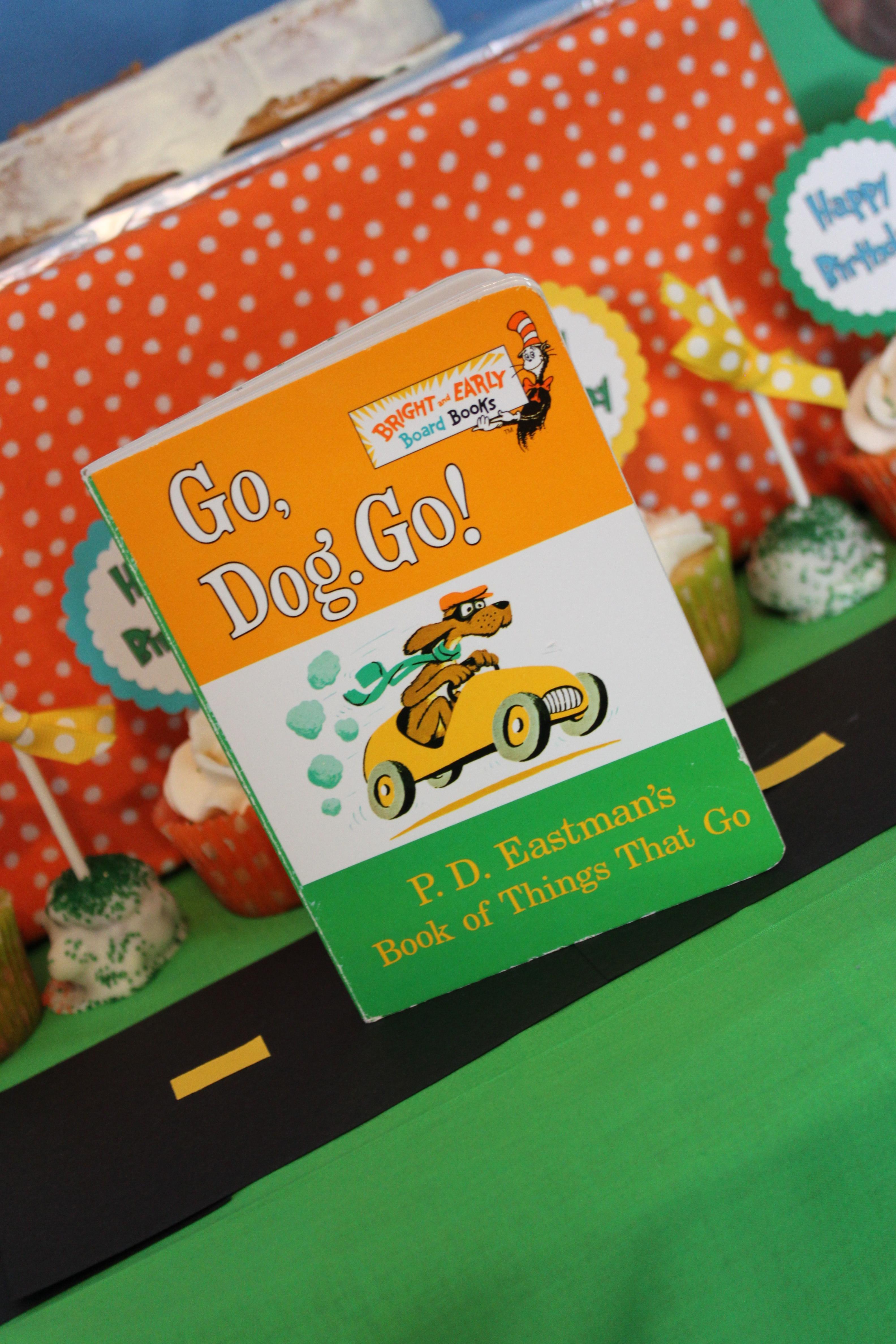 Go Dog Go Birthday Party