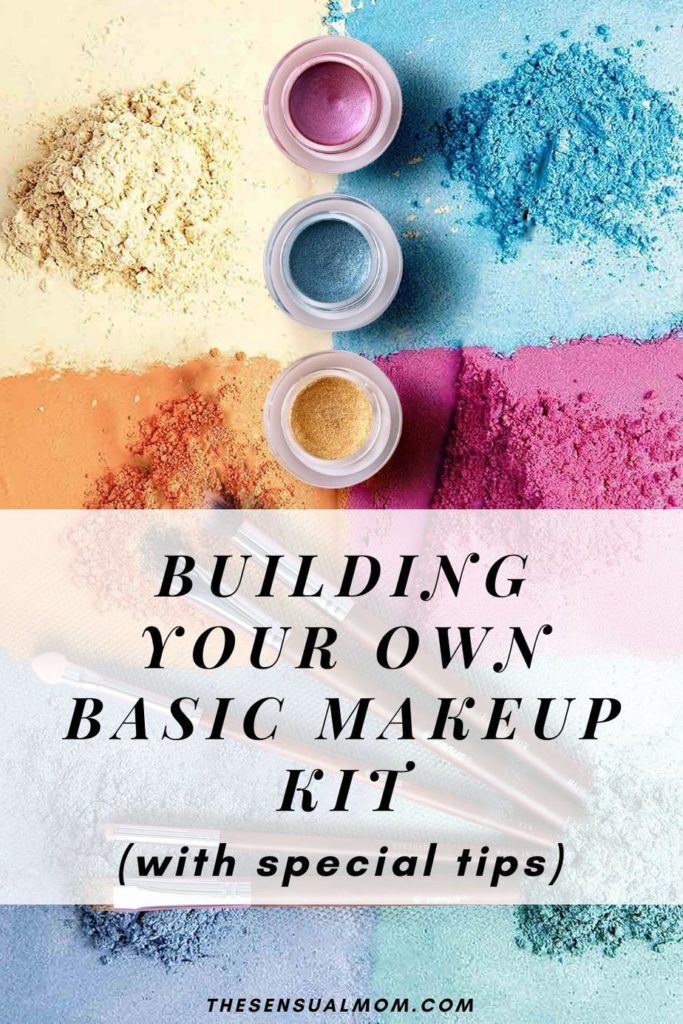 Building your own basic makeup kit