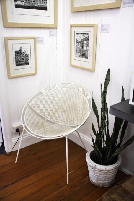 18. Astras Chair, Thelmas potplant