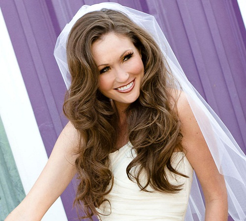 wedding-hairstyles-down-with-veil