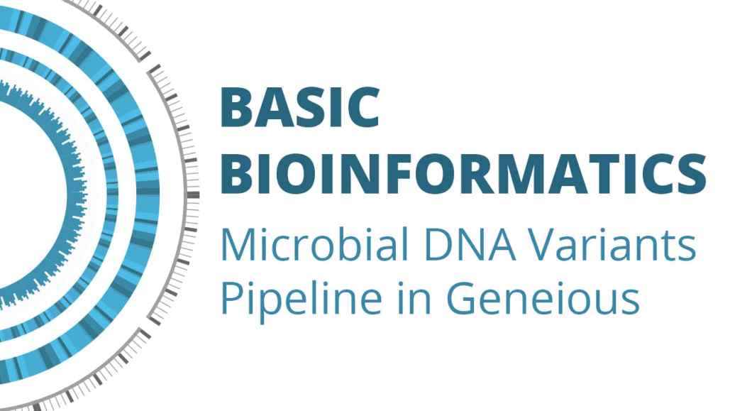 Episode 4: Microbial DNA Variants Pipeline in Geneious