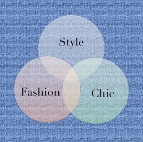 fashion chic style venn