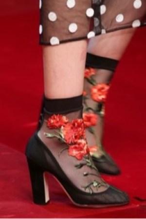 heels socks dolce