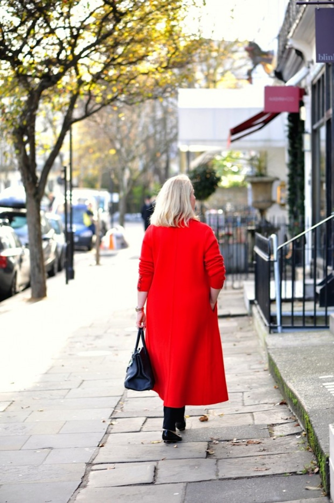 Winsor London red coat