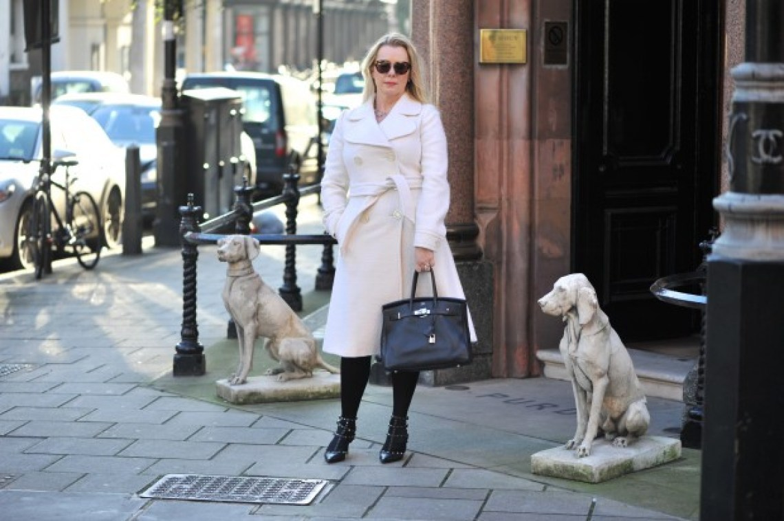 Max Mara coat Mayfair