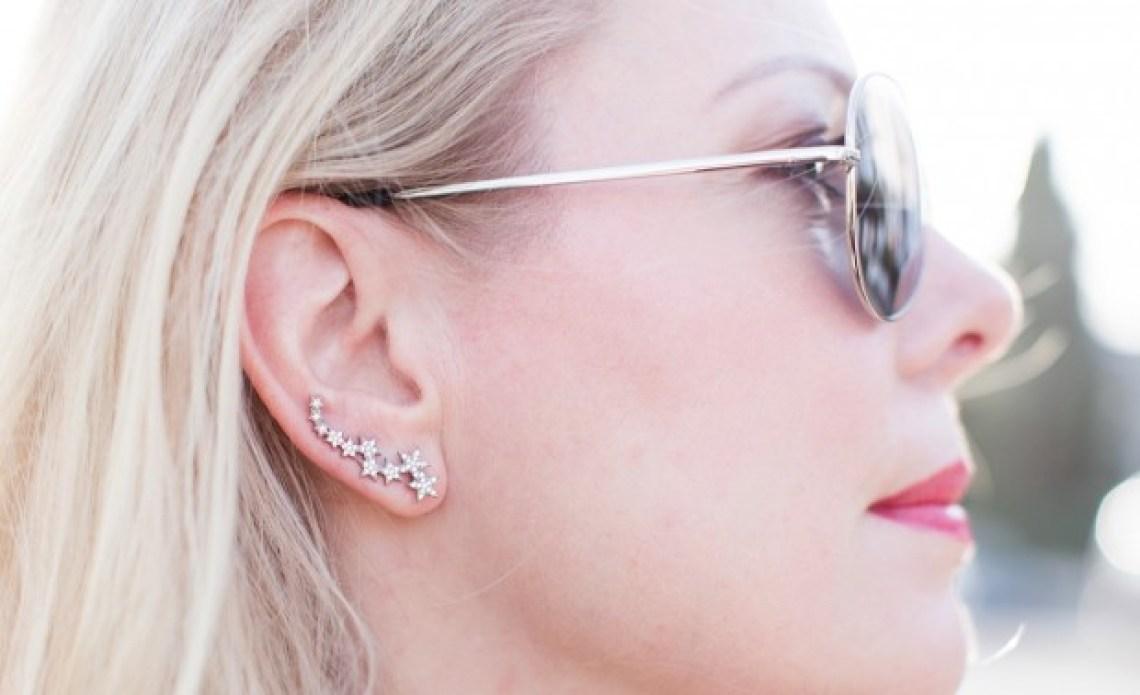 delphine pariente star ear cuff