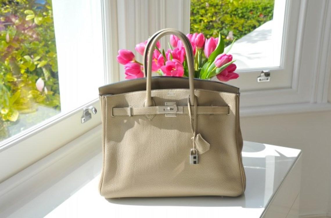 Taupe Birkin Bag