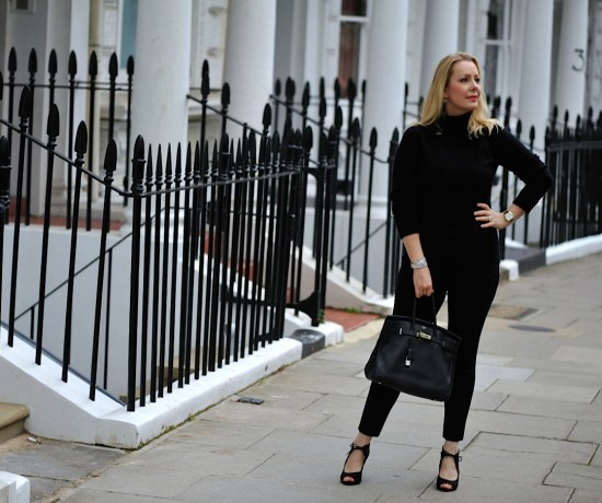 winser london black cashmere