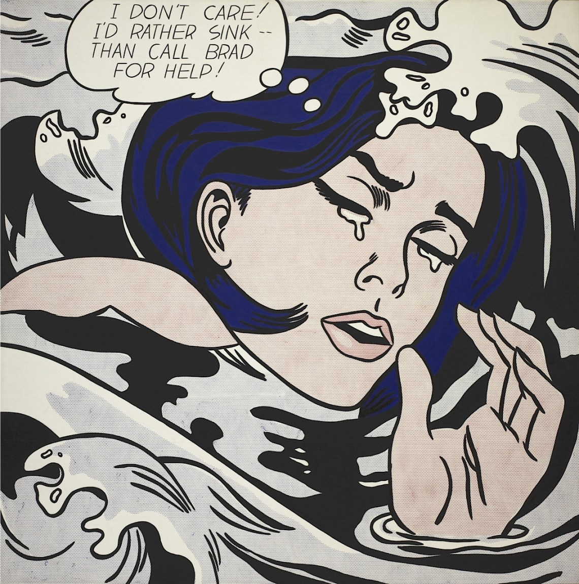 Pop Art Lichtenstein Girl Power- MoMA