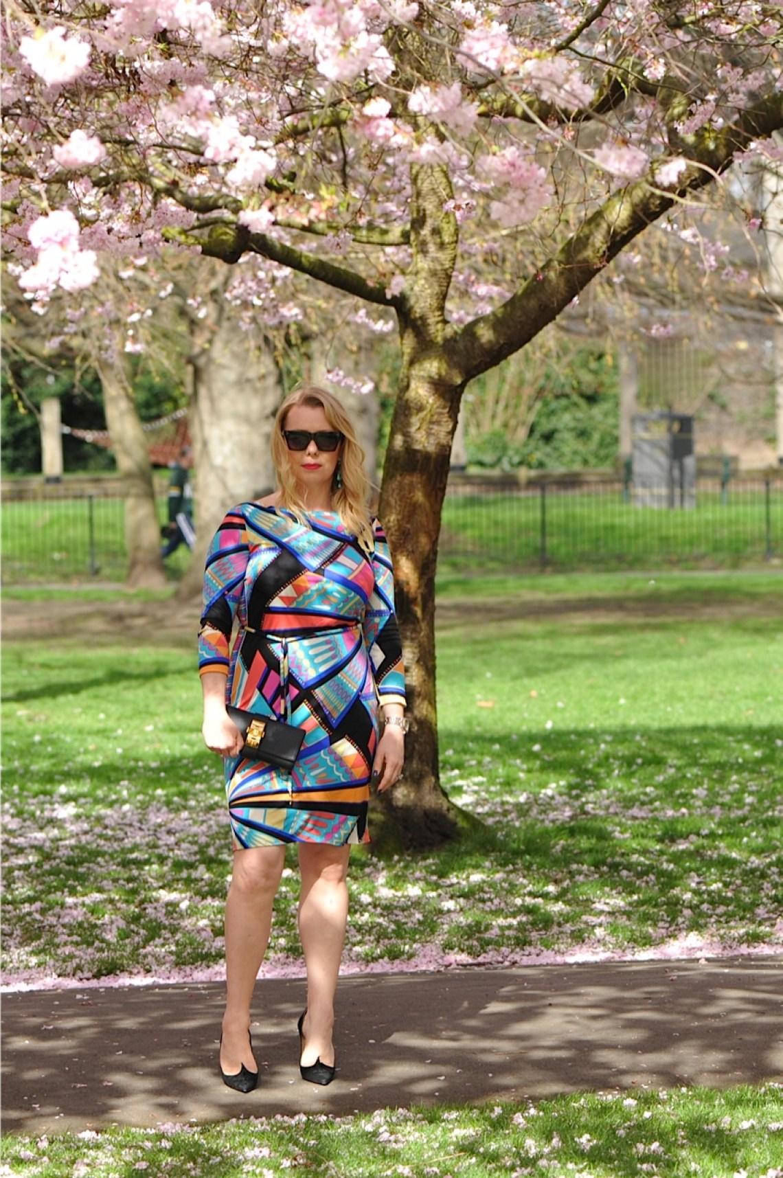 Portrait Pucci dress
