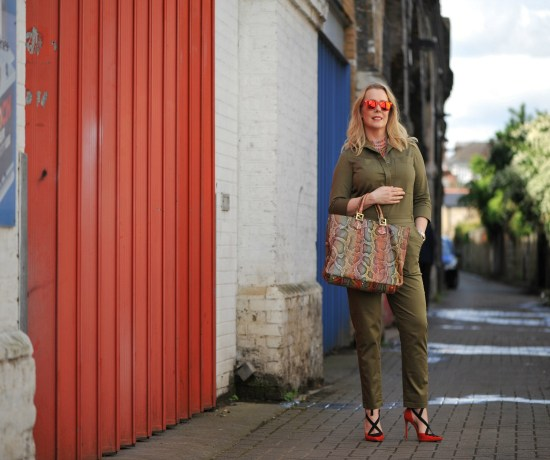 Khaki Winser London jumpsuit