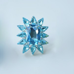 Blue Starburst ring