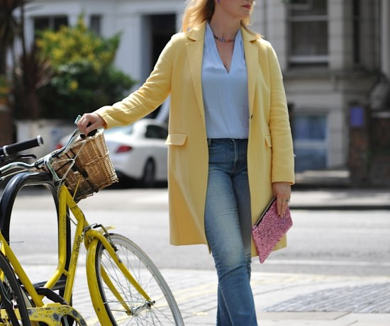 yellow and pastels in summer
